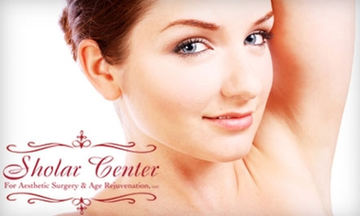 Sholar Center - Evansville: $99 for 6 Laser Hair Removal Treatments from the Sholar Center (Up to $1,000 value)