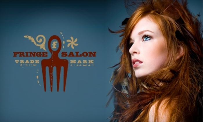 Fringe Salon - Wichita: $25 for $55 Worth of Salon Services at Fringe Salon