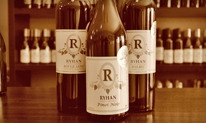 Ryhan Winery - Dunsmuir: $10 for a Wine Tasting for Two at Ryhan Winery in Livermore ($20 Value)