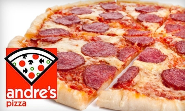 Andre's Pizza - Chaparral Park North: $10 for $20 Worth of Fresh Pizza and More at Andre's Pizza