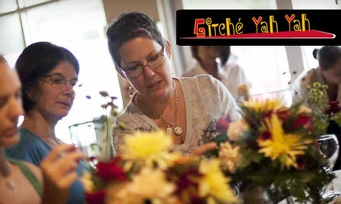 Gitché Yah Yah - Kirkwood: $50 for One Floral-Design Class at Gitché Yah Yah ($125 Value)