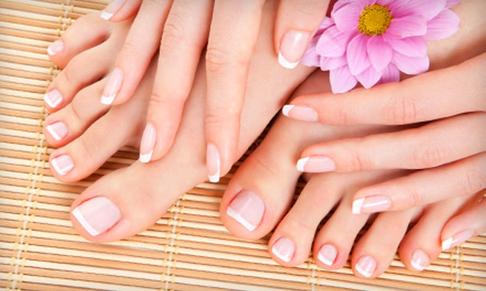 Nails By June - Mandeville: Gel Manicure or a Gel Mani-Pedi at Nails By June in Mandeville (Up to 51% Off)