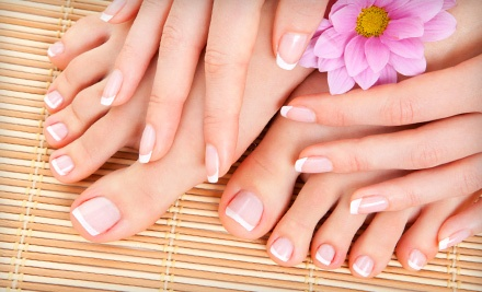 One 3-Week Polish-and-Builder Gel Manicure (a $35 value) - Nails By June in Mandeville