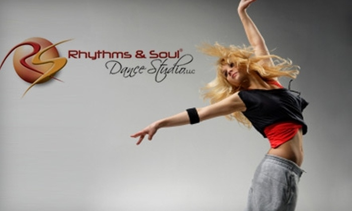 Rhythms and Soul Dance Studio - Levittown: $30 for Any Five Group Dance Classes at Rhythms and Soul Dance Studio ($67.50 Value)