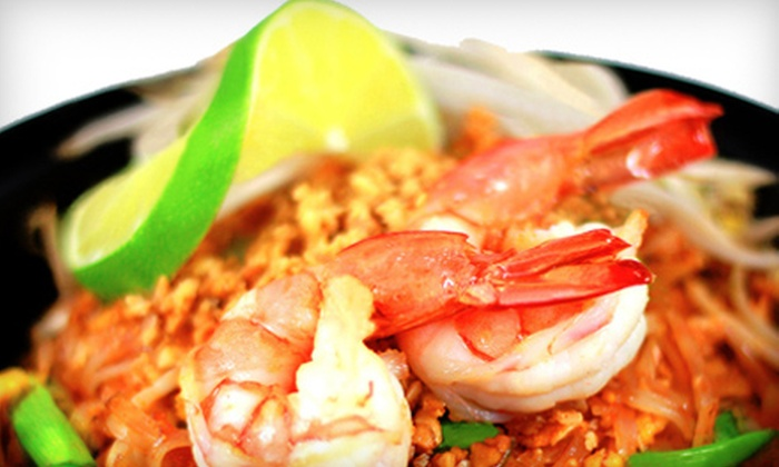 ThaiBox - Multiple Locations: $10 for $20 Worth of Thai Fare at ThaiBox
