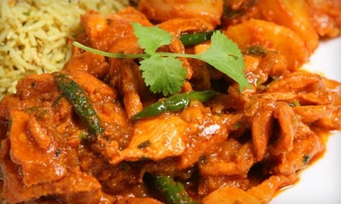 Little India Restaurant - San Francisco: $13 for $26 Worth of Indian Fare and Drinks at Little India Restaurant in Redwood City