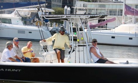 2-Hour Christmas-Themed Semiprivate Harbor Tour for 2 with Hot Chocolate (a $130 value) - Captains Source in Mount Pleasant