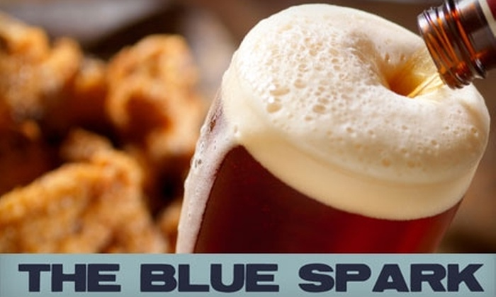 The Blue Spark - Riverside: $7 for $15 Worth of Beer, Cocktails, and Bar Fare at The Blue Spark