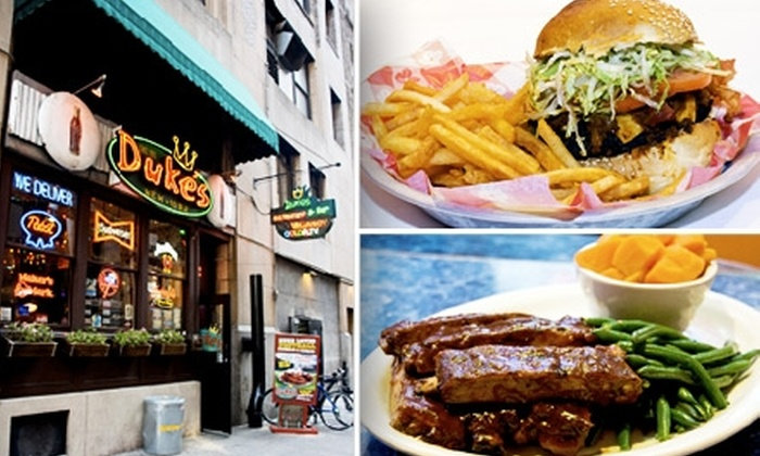 Duke's NYC - Murray Hill: $20 for $40 Worth of Southern Barbecue at Duke's
