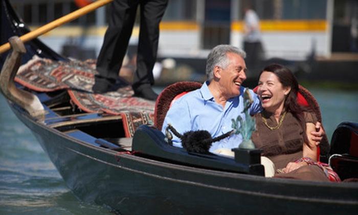 Gondola Cruise In Newport Beach