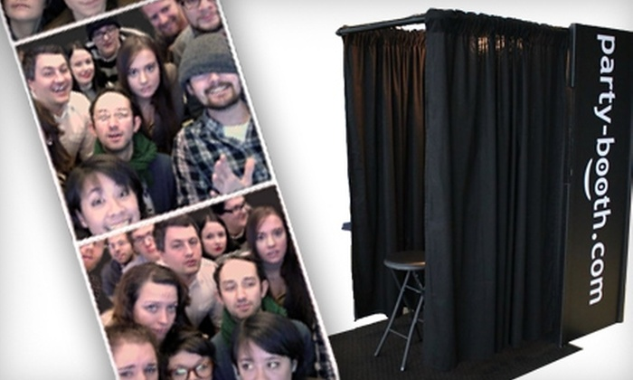 Party-Booth.com - Rochester: $399 for Four-Hour Photo-Booth Rental from Party-Booth.com ($799 value)