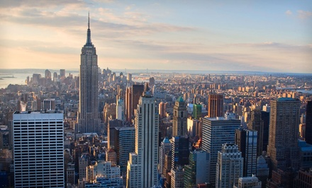 1-Night Stay for Two Adults in a Deluxe King Room Valid 12/18-2/20/12 - Ameritania Hotel New York in New York