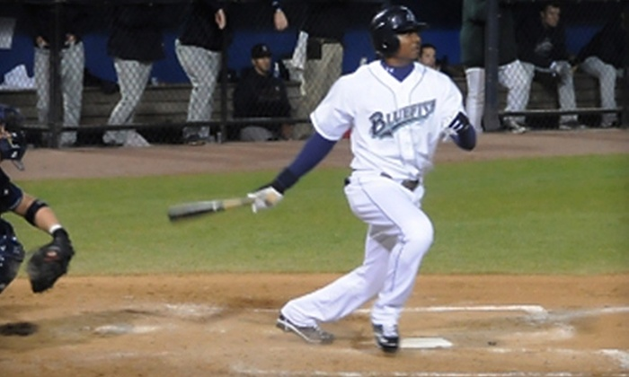 Bridgeport Bluefish - Downtown: $20 for Two Tickets to Bridgeport Bluefish Game ($40 Value)