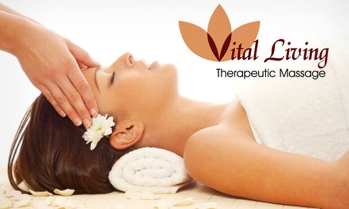 Vital Living Therapeutic Massage - Downtown Fort Wayne: $30 for a Therapeutic Massage or Signature Spa Facial at Vital Living Therapeutic Massage
