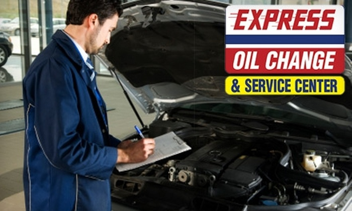 Express Oil Change & Service Center - East County Civic Group: $17 for a Standard Oil Change at Express Oil Change & Service Center