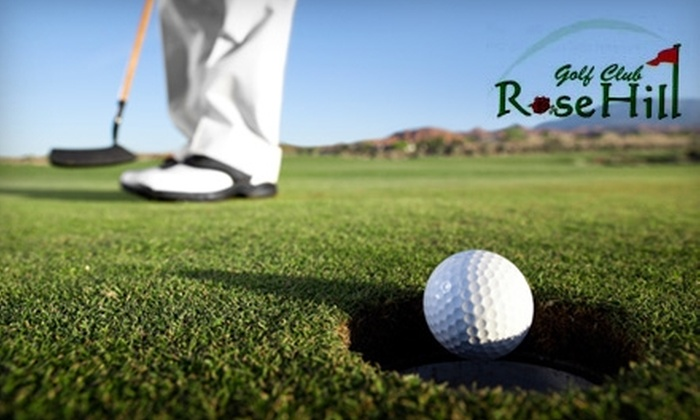 Rose Hill Golf Club - South Kingstown: $10 for Nine Holes of Golf for Two People at Rose Hill Golf Club ($26 Value)