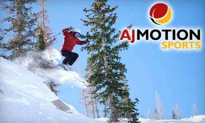 AJ Motion Sports - Sandy: $24 For a Ski or Snowboard Tune-Up at AJ Motion Sports ($50 Value)
