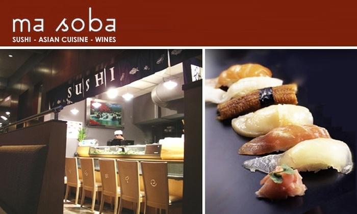 Ma Soba - Beacon Hill: $20 for $40 at Ma Soba Pan-Asian Restaurant