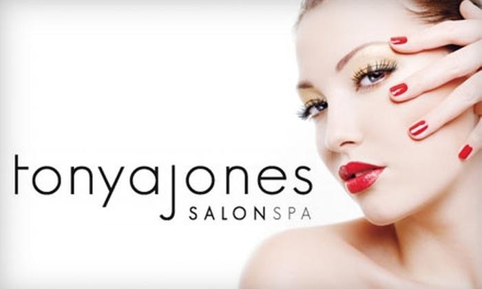 Tonya Jones SalonSpa  - Mountain Brook: $42 for a Mani-Pedi at Tonya Jones SalonSpa (up to $85 Value)