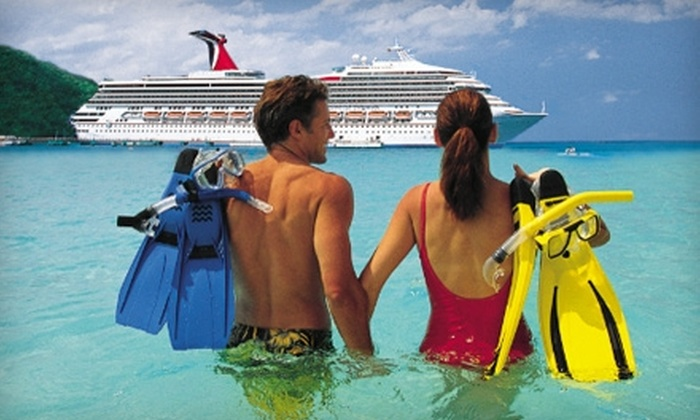 Travel America Vacations - Multiple Locations: Four-Night/Five-Day, All-Inclusive Carnival Cruise for Two from Miami or Port Canaveral. Two Options Available.