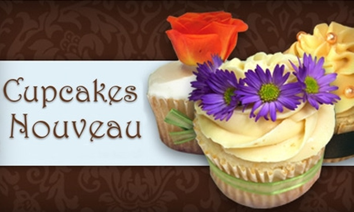 Cupcakes Nouveau - Riviera: $14 for a Dozen Cupcakes at Cupcakes Nouveau in Coral Gables ($28 Value)