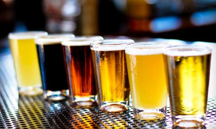 Alcatraz Brewing Company - Orange: $6 for Beer Flights for Two at Alcatraz Brewing Company in Orange ($12 Value)