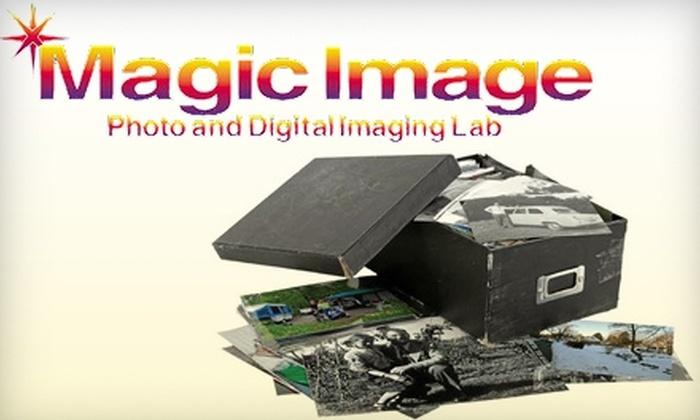 Magic Image - Lake Clarke Shores: $39 for a Scanned Shoebox-Full of Photographs at Magic Image ($149 Value)