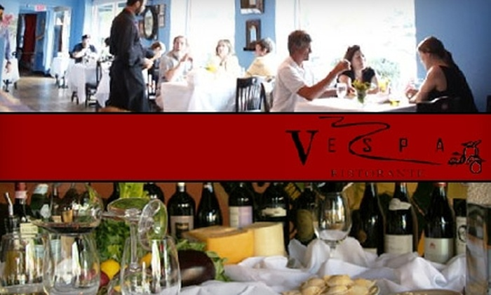 Vespa Ristorante - Downtown Chapel Hill: $15 for $35 Worth of Italian Cuisine at Vespa Ristorante in Chapel Hill
