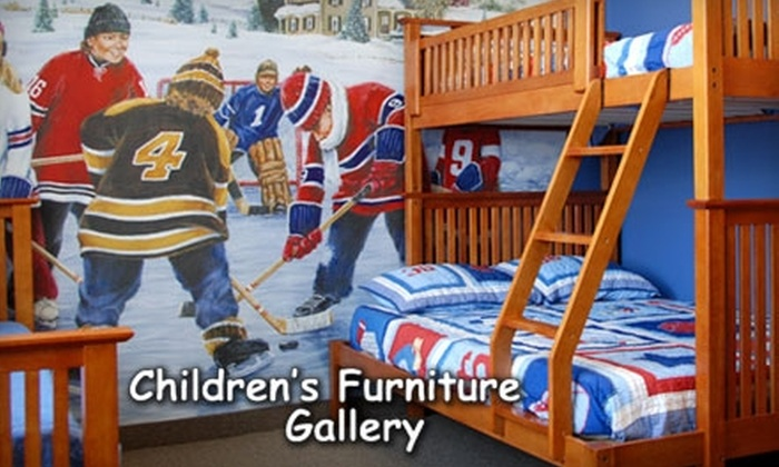 Children's Furniture Gallery - Longwoods: $50 for $200 Worth of Furniture for Children and Teens at Children's Furniture Gallery