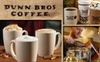 Dunn Bros Coffee - Sioux Falls: $10 for $20 Worth of Fresh Brews and Snacks at Dunn Bros Coffee