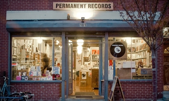 Permanent Records - Greenpoint: $10 for $20 Worth of CDs, LPs, and More at Permanent Records in Greenpoint