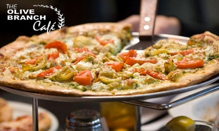 The Olive Branch Café - Multiple Locations: $15 for $30 Worth of Italian Fare and Pizza at The Olive Branch Café. Choose from Three Locations.