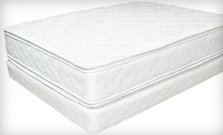 Twin-Size Ortho Sleep Double Pillow-Top Mattress Set (a $600 value) - Casa Furniture, Inc.  in Alexandria