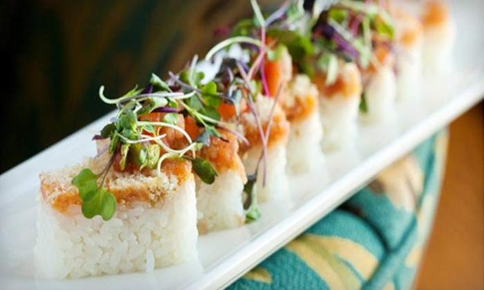 Latitude 43 - Gloucester: $25 for a Sushi-Tasting Platter at Latitude 43 in Gloucester ($54 Value)