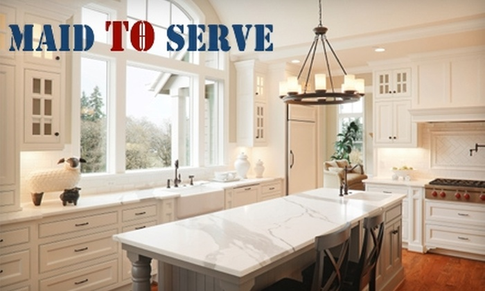 Maid to Serve - Dale City: $60 for Two Hours of House Cleaning from Maid to Serve (Up to $150 Value)