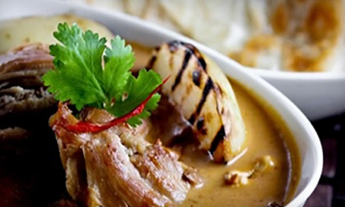Bombay Deluxe - Midtown: $15 for $30 Worth of Indian Cuisine at Bombay Deluxe. Two Options Available.