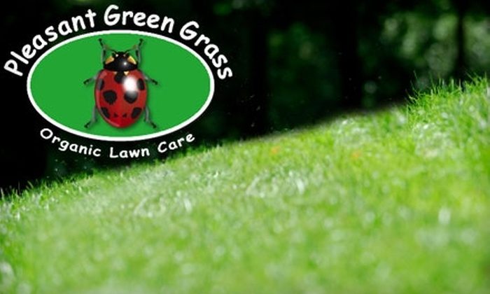 Pleasant Green Grass - Raleigh / Durham: $43 for Aeration, Organic Fertilization and Soil-Conditioning Treatment, and Soil Analysis from Pleasant Green Grass ($125 Value)