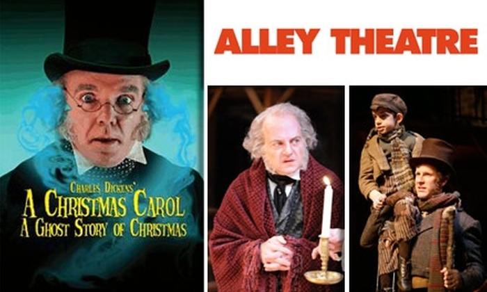 Alley Theatre - Downtown: $20 Ticket to 'A Christmas Carol' at Alley Theatre. Buy Here for Friday, 11/27, at 2:30 p.m. See Below for Sunday, 11/22, at 7:30 p.m.