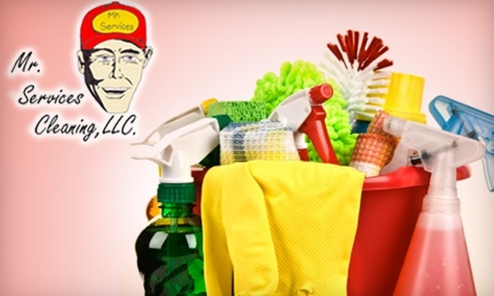 Mr. Services Cleaning - Clarksville: $40 for Two Hours of House Cleaning from Mr. Services Cleaning ($80 Value)