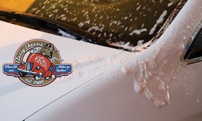 Classy Chassis - Multiple Locations: $6 for an Ultimate Wash at Classy Chassis (Up to $15 Value)