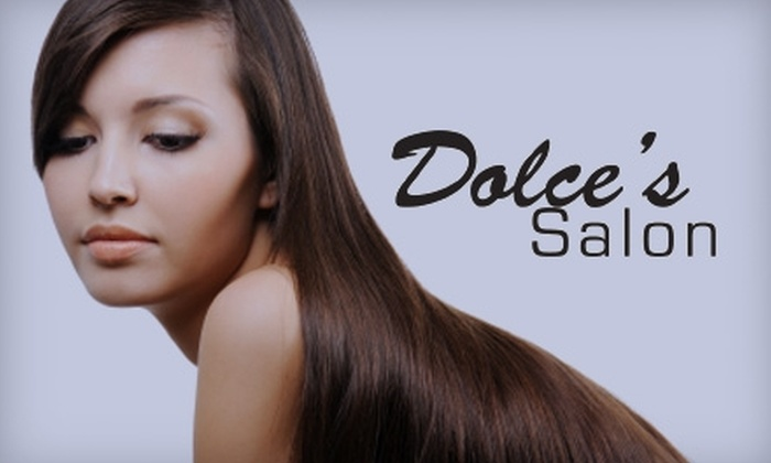 Dolce's Salon - Multiple Locations: $50 for $120 of Your Choice of Services at Dolce's Salon