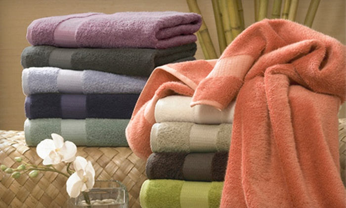 $39 for a Bamboo Collection Six-Piece Towel Set. Shipping Included ($110.99 Value). 12 Colors Available.