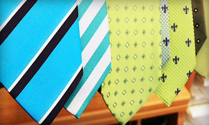 Andrew's Ties USA - Multiple Locations: $27 for $55 Worth of Ties, Shirts, and Men's Clothing Accessories at Andrew's Ties USA