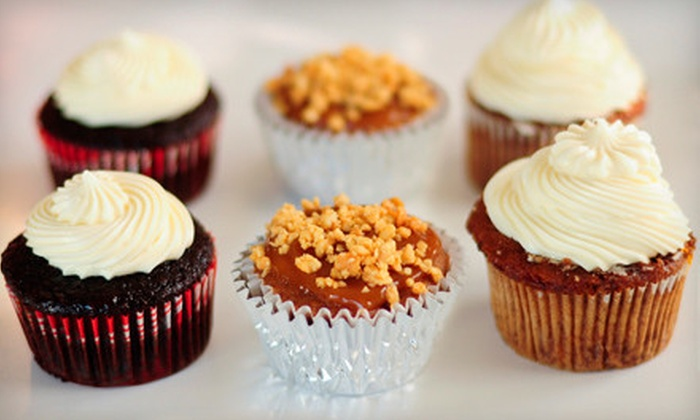 Two Gals Cupcakery - Greenslopes At Lake Creek: One or Two Dozen Gourmet Cupcakes from Two Gals Cupcakery (Up to 54% Off)