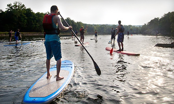Potomac Paddle Sports - Potomac: $59 for a Three-Hour Stand-up Paddleboarding Lesson from Potomac Paddle Sports ($125 Value)