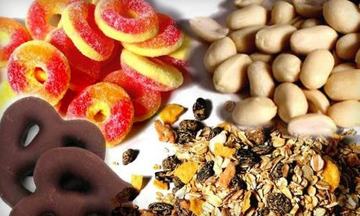 Nutty Guys - Ogden: $10 for $25 Worth of Nuts, Dried Fruit, and More from Nutty Guys