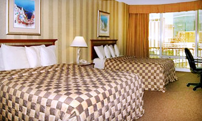 Clarion Hotel and Casino - The Strip: $49 for a One-Night Getaway and Breakfast for Two at Clarion Hotel and Casino (Up to $211.09 Value)