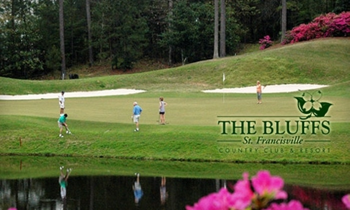 The Bluffs Country Club - 2: $50 for 18 Holes of Golf for Two with a Cart at The Bluffs Country Club in St. Francisville (Up to $144 Value)