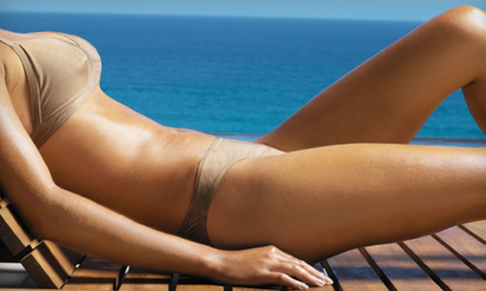 Brushed Tanning - Multiple Locations: One or Three Full-Body Airbrush Tans at Brushed Tanning