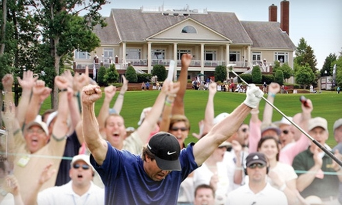 The 2011 Rex Hospital Open - North Raleigh: $19 for Two Grounds Passes, Sandwiches, and Drinks at The 2011 Rex Hospital Open ($40 Value)